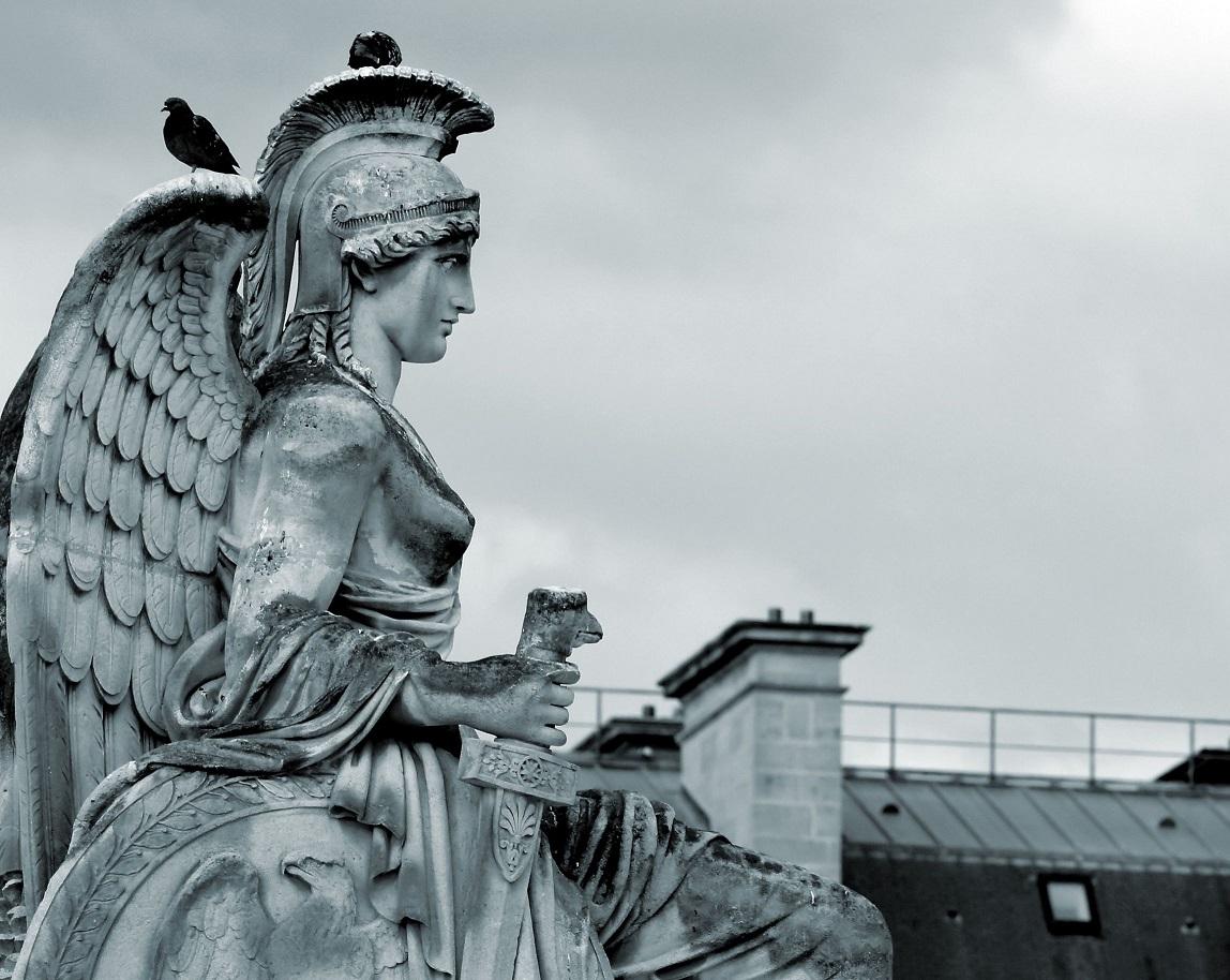 アテナ女神の彫像 2