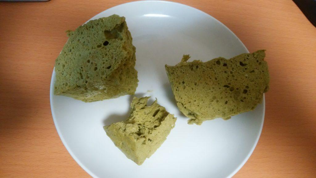 プロテインケーキ分割