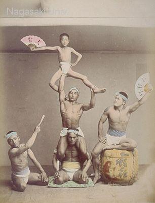 江戸時代軽業師